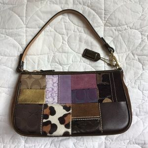 Coach Holiday Patchwork Demi Bag With Dust Cover